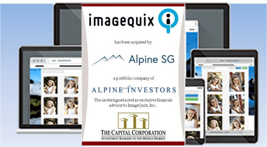 The Capital Corporation Advises ImageQuix, Inc. on its Sale to ASG